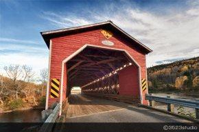 Covered Bridges in Quebec –Canada